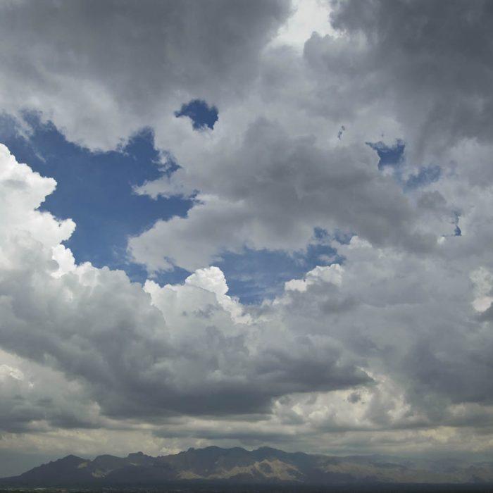Catalina Mountains and Sky
