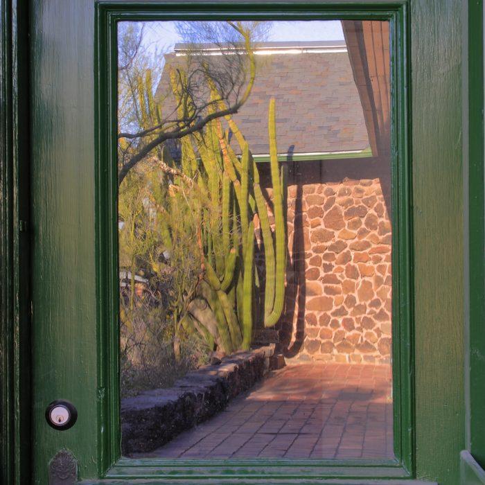 Desert Lab door