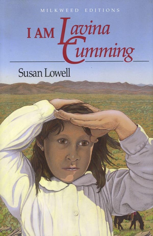 """I am Lavina Cumming"" book cover illustration"