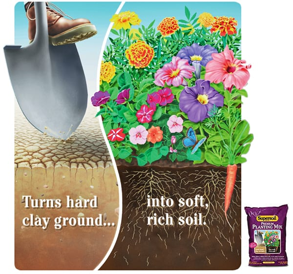 Supersoil package illustration