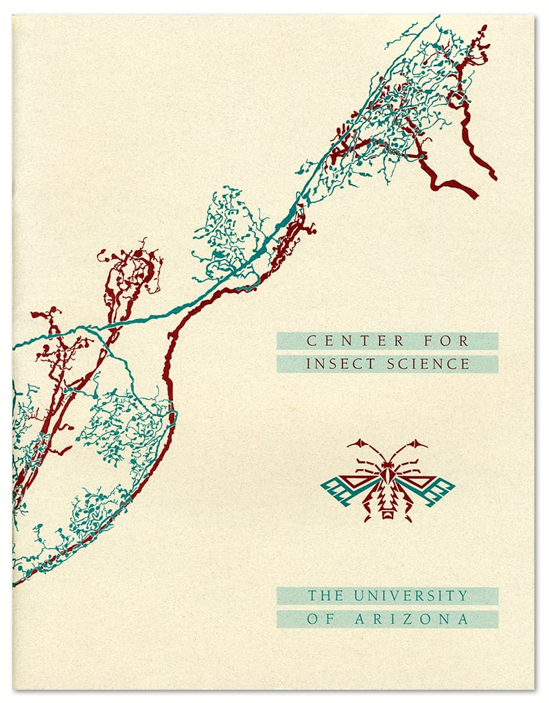 Center for Insect Science brochure cover