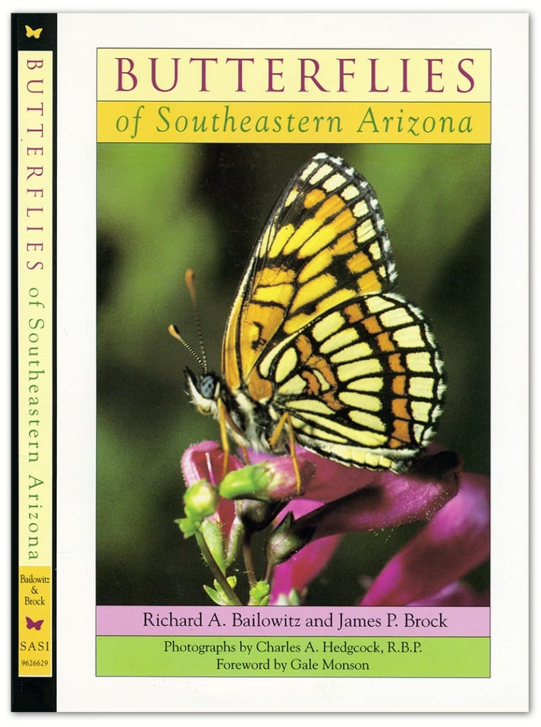Butterflies of SE Arizona cover design