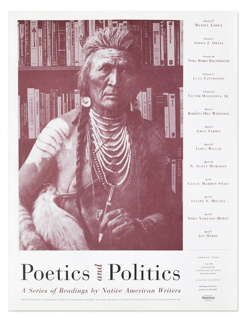 Native American Poets poster