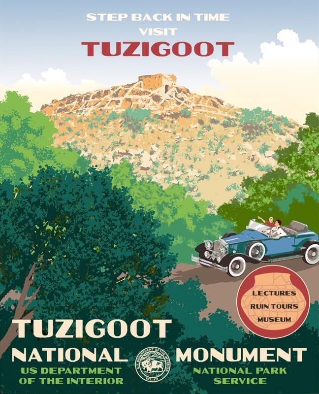 Tuzigoot Visitor's Center exhibit