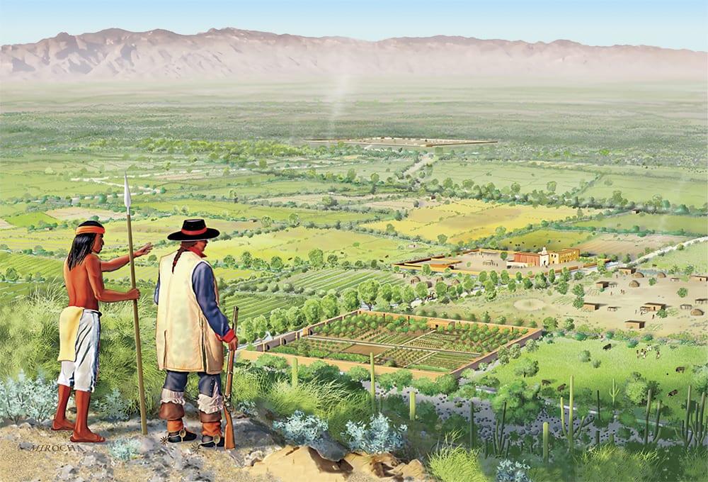 Tucson in 1810