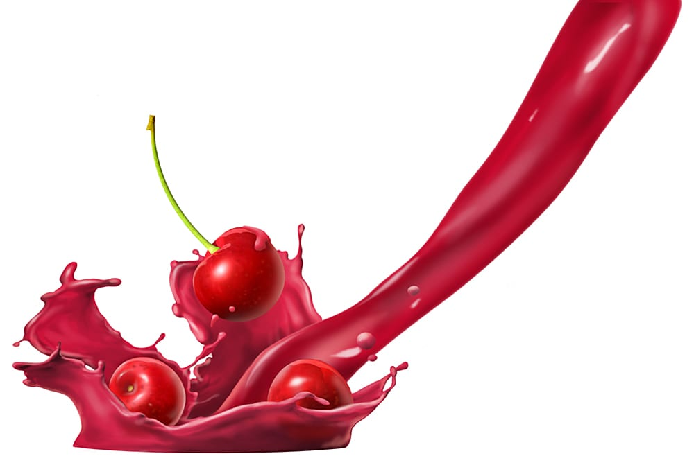 CHerry splash