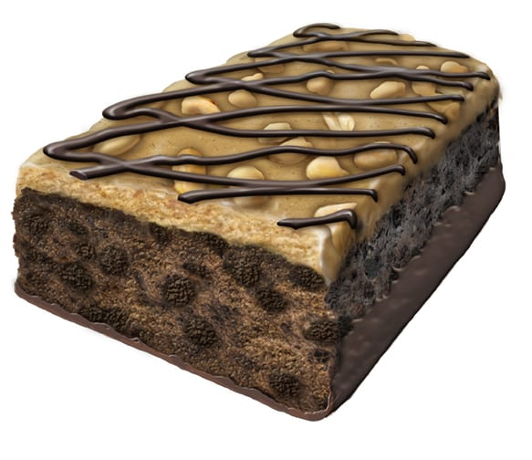 Protein Crunch bar, chocolate peanut butter
