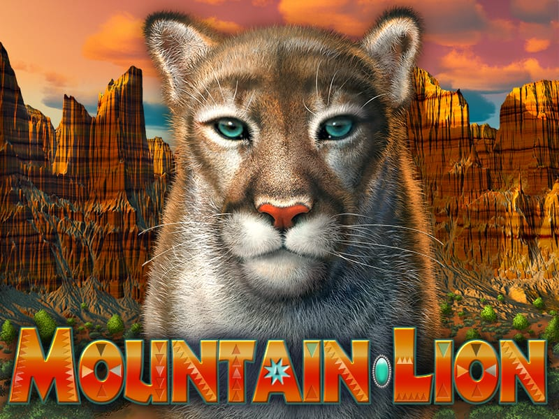 Mountain Lion title panel for game