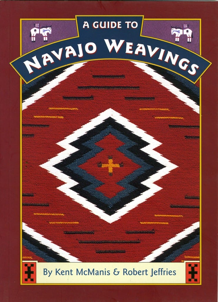 Navajo Weavings book cover design