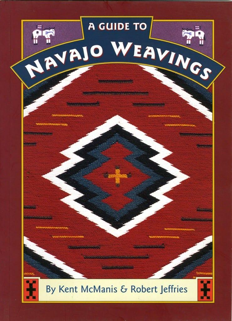 Navajo Weavings book cover design
