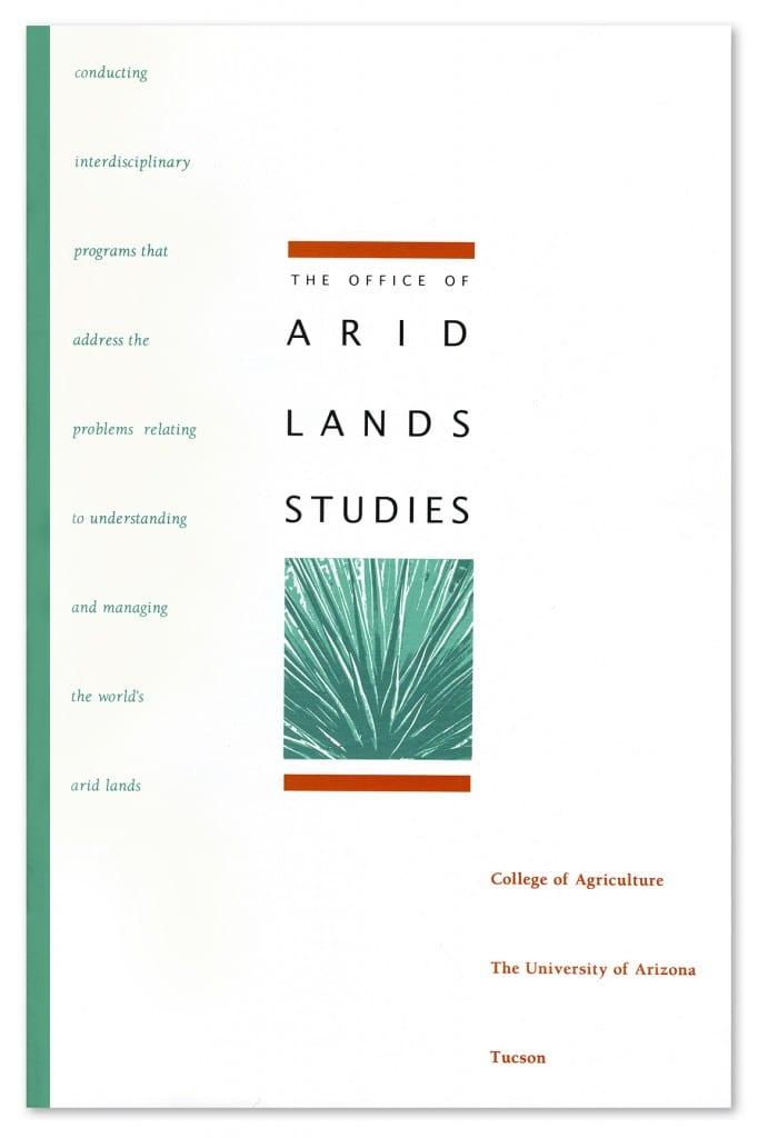 office of arid lands studies brochure