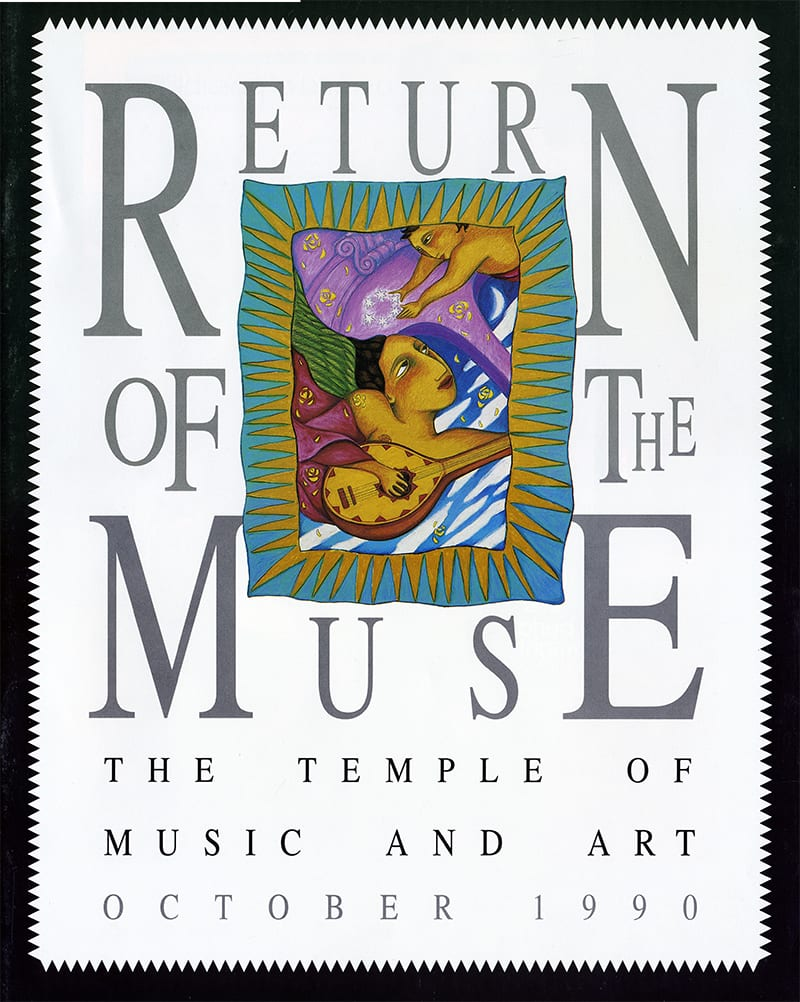 "cover for ""return of the muse"" publication"