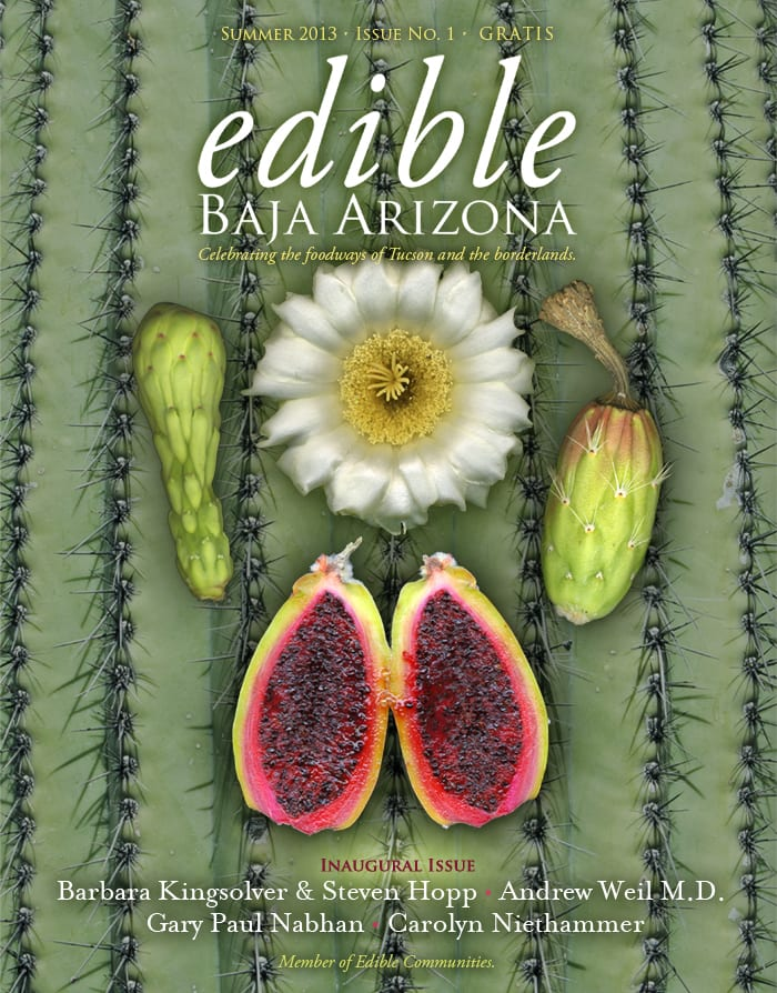 cover for Edible Baja Arizona