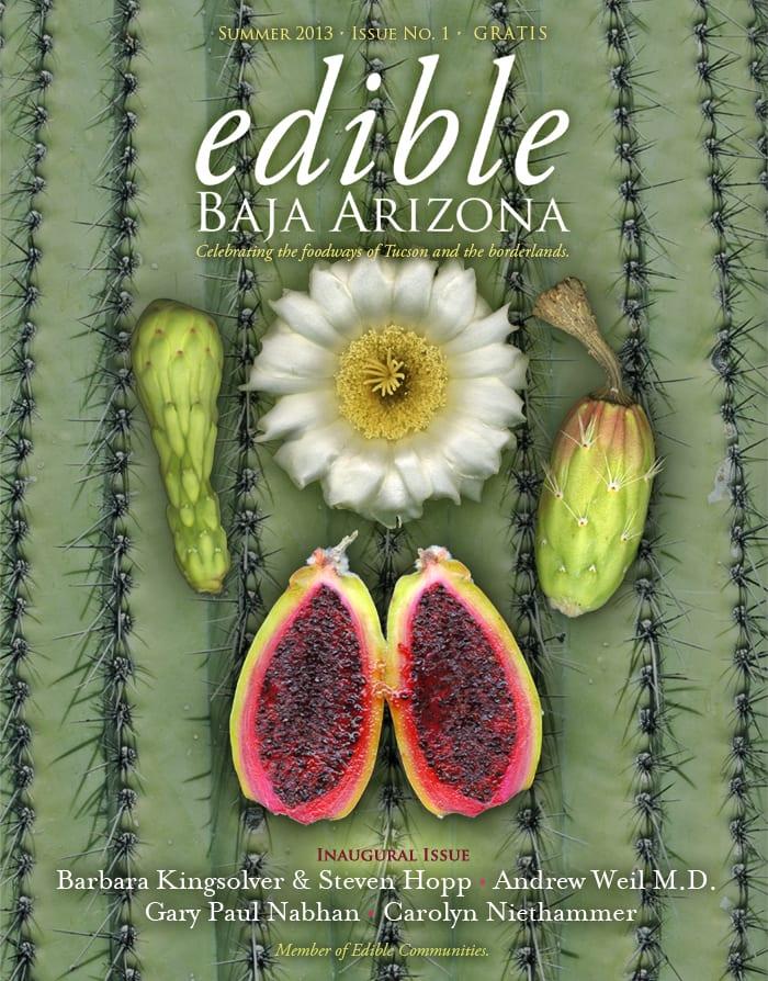 cover for Edible Baja Arizona