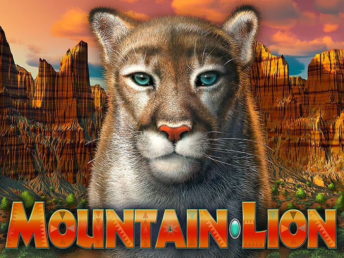 Mountain Lion illustration and title design