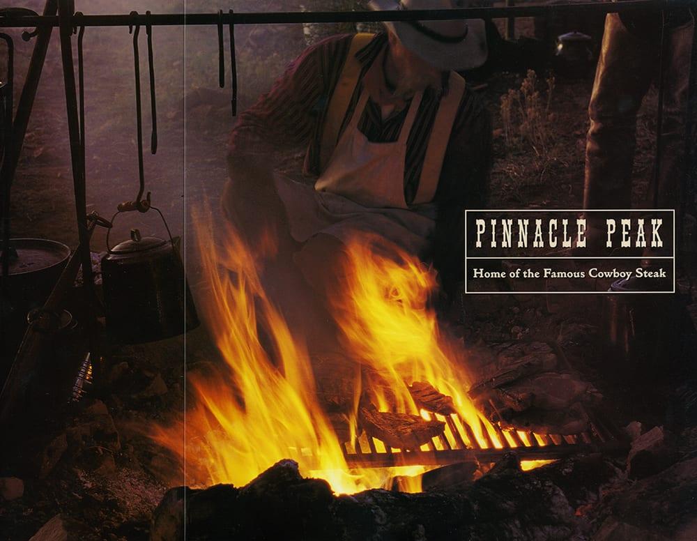 Pinnacle Peak menu-cover