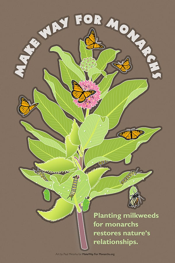 "Free ""Make Way for Monarchs"" Poster"