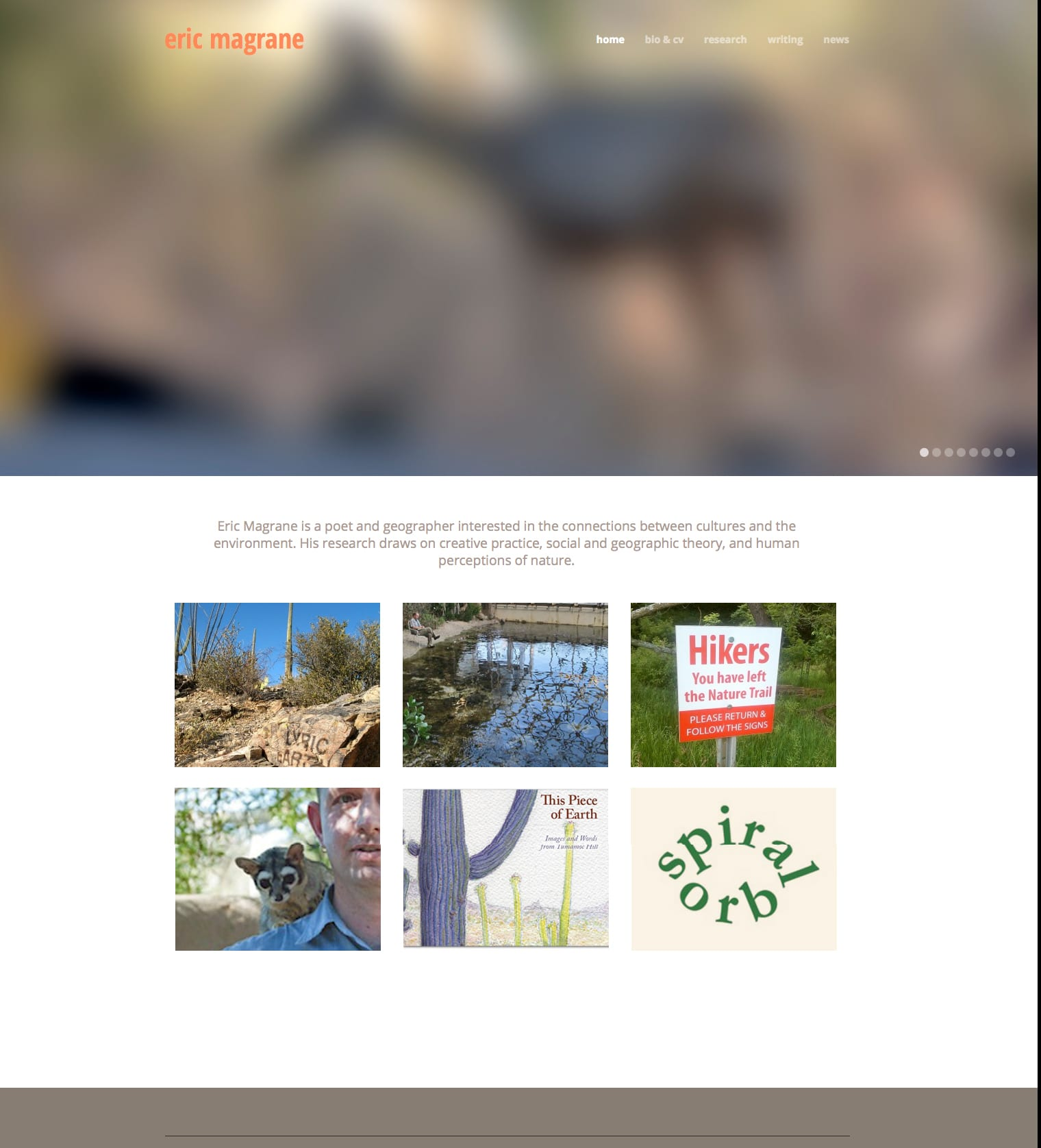 ericmagrane.com home page