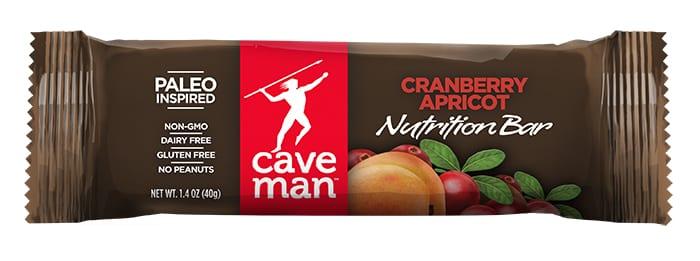 caveman bars cranberry apricot