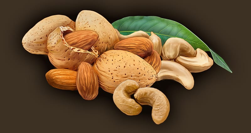 almond cashew cave man foods