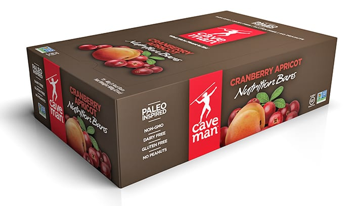 Nutrition Bar Carton - Cranberry Apricot