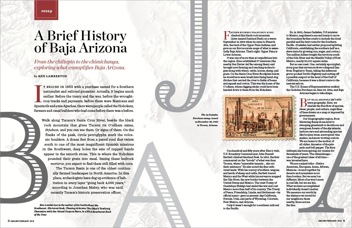 Baja Arizona Magazine