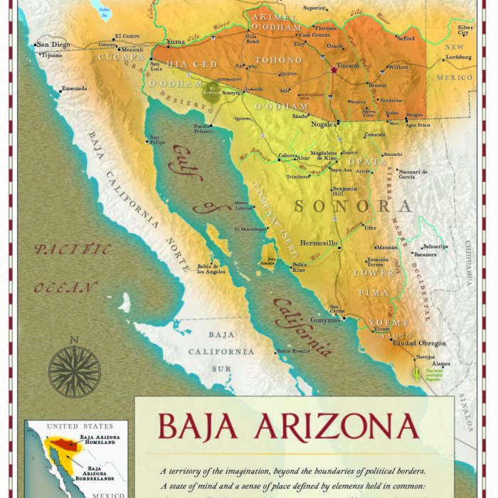 Baja Arizona Map