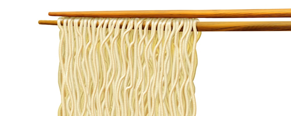 ramen noodles illustration