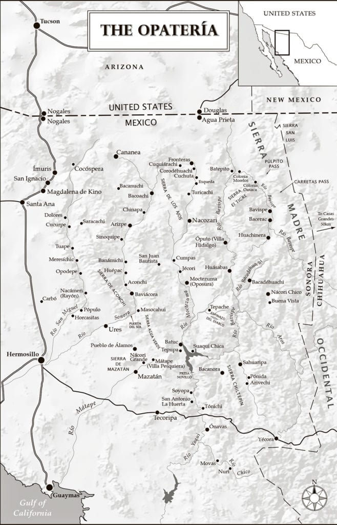 The Opateria map