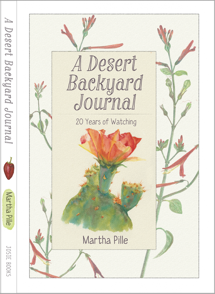 DESERT BACKYARD JOURNAL-BOOK COVER