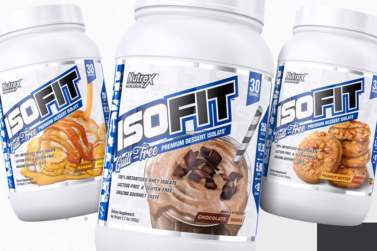 Packaging and branding for Isofit protein drink